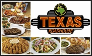 Texas Roadhouse with Food